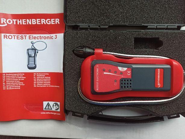 Газотечеискатель,газошукач Rothenberger Rotest Electronic 3 - 66080