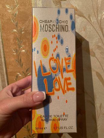 Духи Moschino I Love Love New