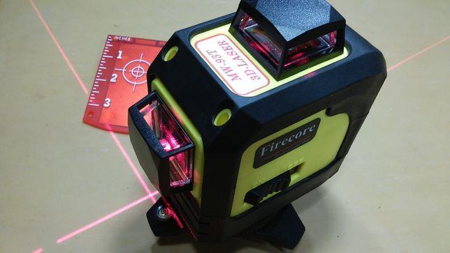 Новый профессиональный лазерный уровень 3D Firecore MW-93T