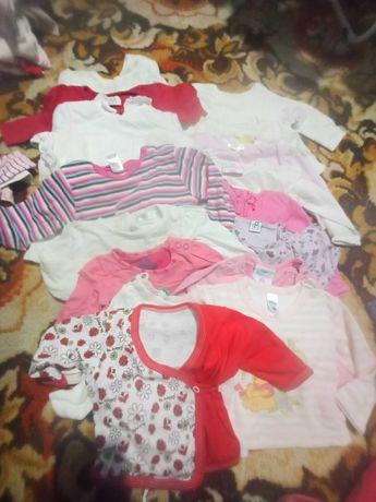 Ubrania dla dziewczynki.