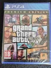 GTA V Grand Theft Auto 5 Premium Edition ps4 Ps5 Novo + extras