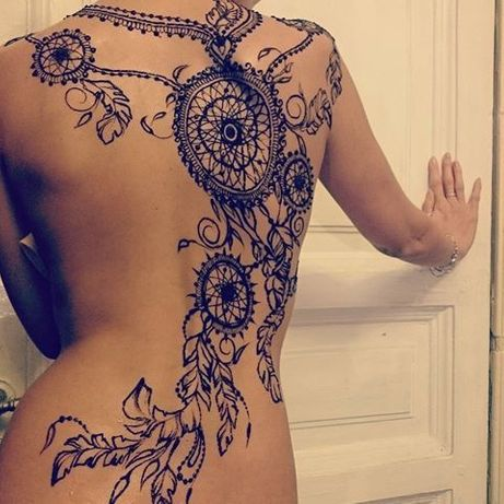 Роспись хной,исунки хной,мехенди,временные татуировки .