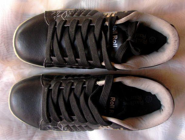 Кроссовки с выдвижными колесами для девочки, подростка (24 см стелька)
