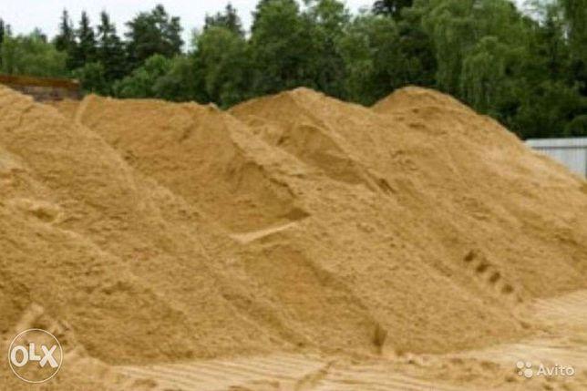 песок щебень отсев земля камень и др