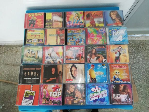 Lote / Recheio - Diversos - DVDs - CDs - 25€