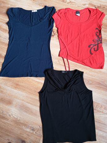 Bluzeczki Orsay, Nike, F&F rozm M komplet