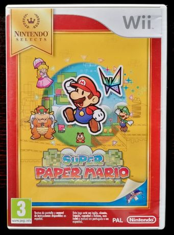 Super Paper Mario™ Wii (COMO NOVO)
