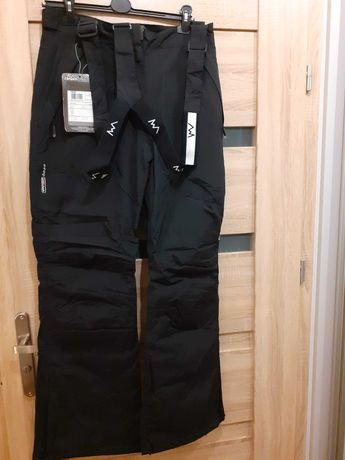 Spodnie narciarskie Campus ETINA damskie XXL 44 czarne nowe