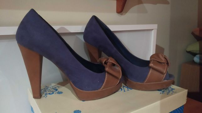 Sapato de salto alto n37