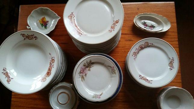 Посуда СССР (тарелки, супницы)