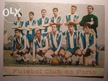 Estampa de equipa do Futebol Clube do Porto - antiguidade - RARA