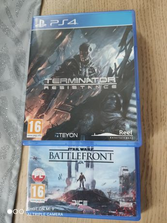 Terminator resistance PS4 pl + Star Wars