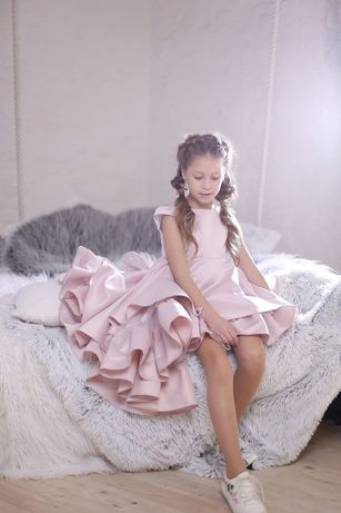 Нарядное платье волан, бренд Malina