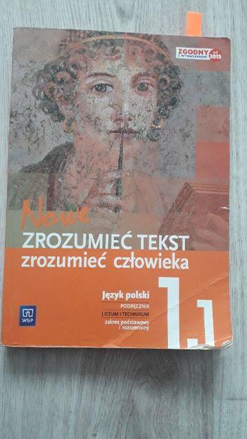 Zrozumieć tekst, zrozumieć człowieka 1.1 - podręcznik do j. polskiego