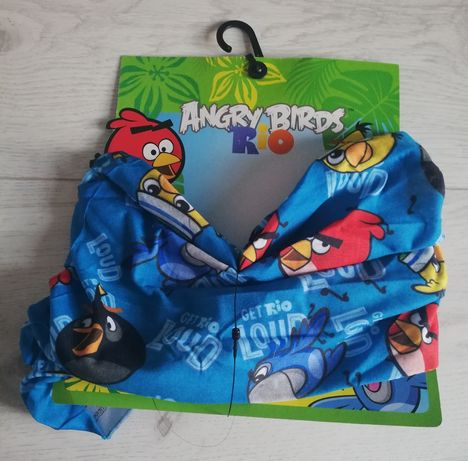 Komin chusta Angry Birds niebieski Nowy