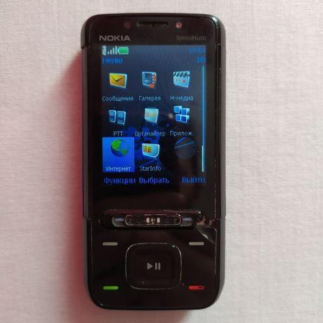 Мобильный телефон смартфон NOKIA XpressMusic 5610d-1 с зарядкой