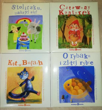 Bajki - Klasyka - 4 książeczki