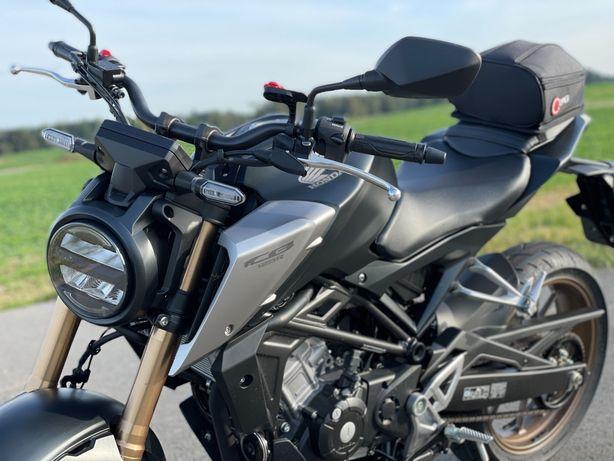 Honda CB 125r 2021 / 750 km / 15KM / Czarna / Cesja