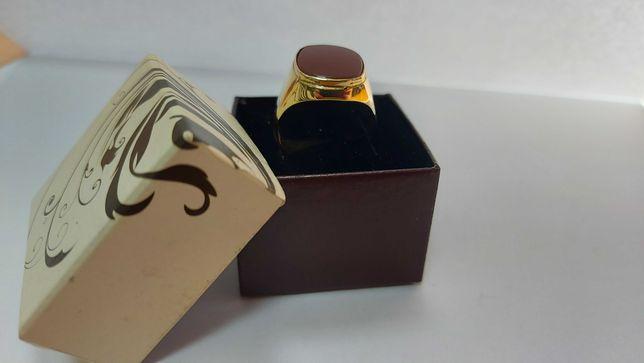 Piękny złoty sygnet rozmiar 26 złoto 585