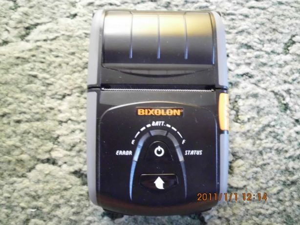 dobrej klasy Drukarka etykiet model drukarki BIXOLON MOBILE PRINTER S