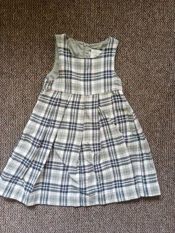 Sukienka LOGG, w kratkę, rozm 122 HM