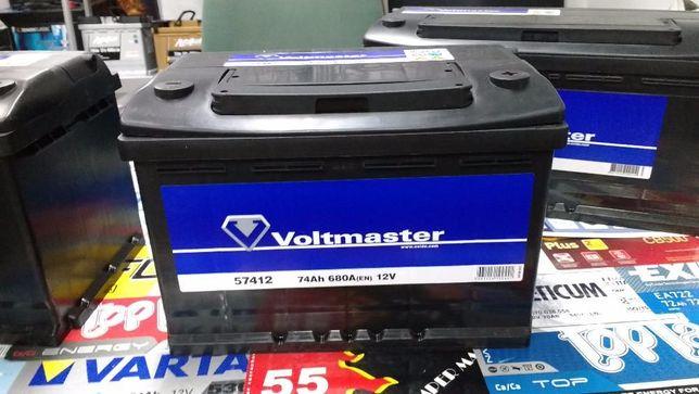 Akumulator Voltmaster Centra Exide CB740 74Ah 680A Kraków Dowóz wymian