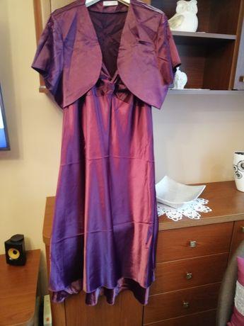 Sukienka rozmiar 50 jak NOWA plus bolerko