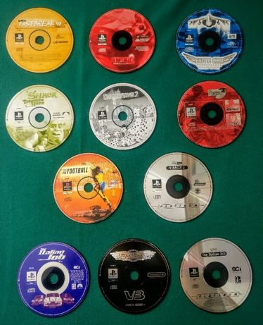 Jogos PlayStation 1/PS1 Originais Sem Capa