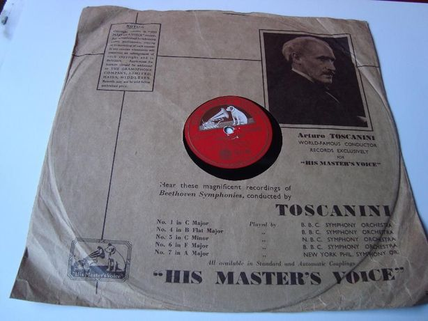 Discos Vinil 78 RPM Grafonola