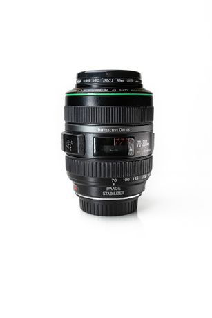 Canon EF 70-300 IS Difractive Optics - Perełka Zielona Elka