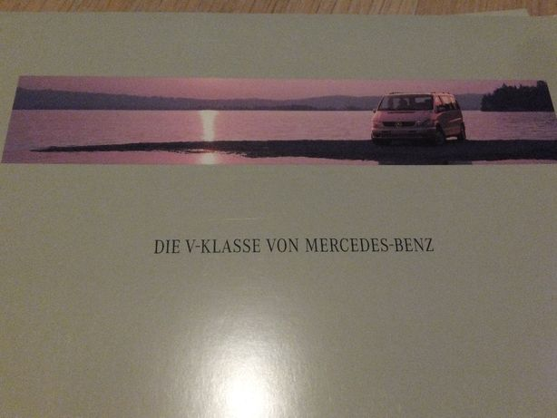 Prospekt Mercedes V-klasse - nówka!