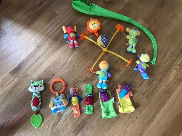 Karuzela i Zestaw zabawek dla niemowlaka