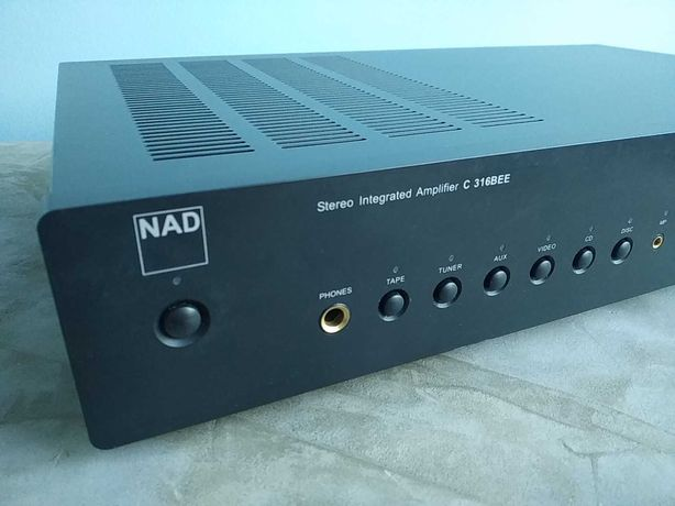 Amplificador integrado NAD C 316BEE
