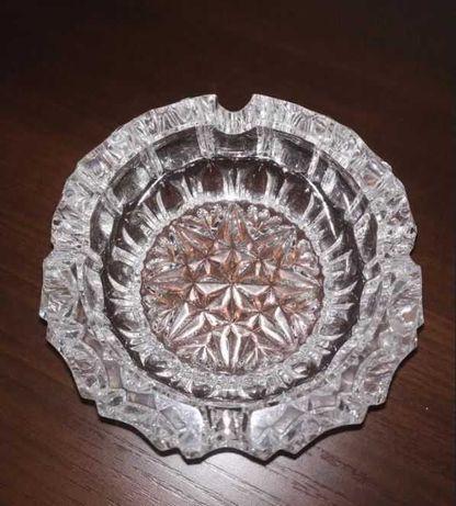 Kryształowa popielniczka 12 cm