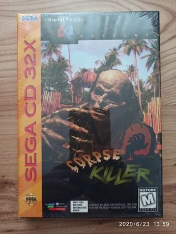 Corpse Killer - gra na SEGA CD 32X - fabrycznie zafoliowana, nie otwie