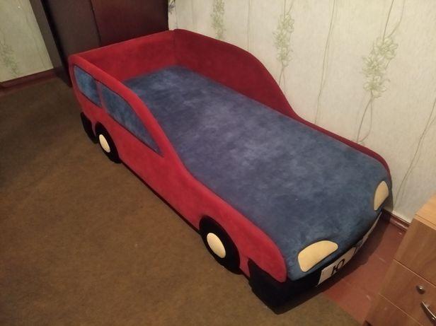 Кровать детская, Феррари (мягкая)