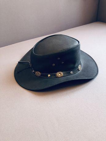 Кожаная/замшевая австралийская шляпа RUGGED EARTH ковбойская