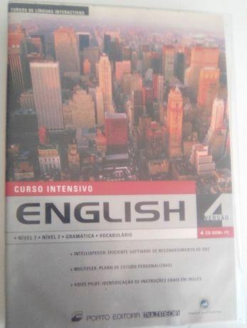 Curso Intensivo de Inglês em 4 CDs e Dicionário da verbo Oxford