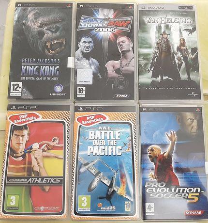 Jogos e filme PSP playstation portable
