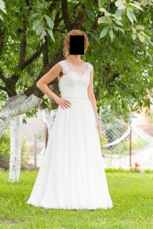 Sukienka ślubna Casilda z kolekcji Afrodyta (Polska firma)