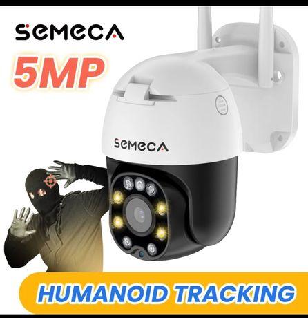 Ip-камера видеонаблюдения Semeca 5 МП, уличная Wi-Fi камера