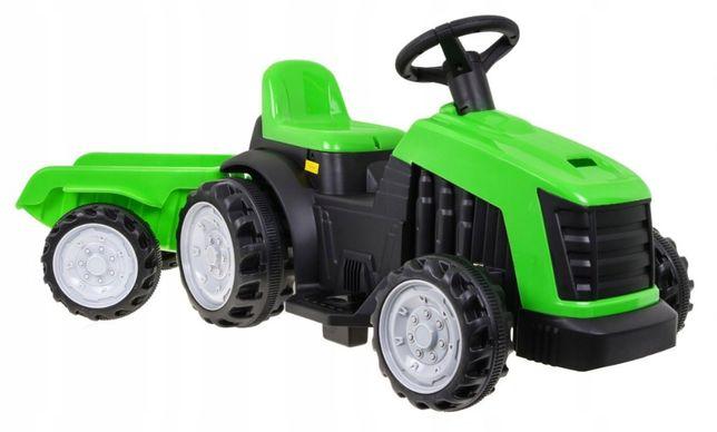 Traktor z Przyczepą Zielony TR1908T