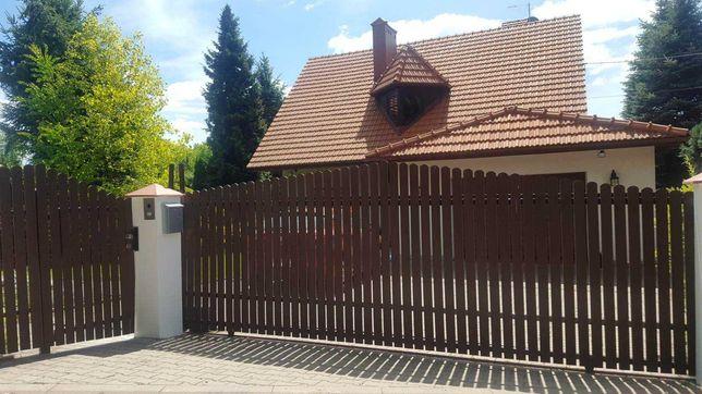 Sztacheta ekodeska kompozytowa ogrodzenie drewno + pcv