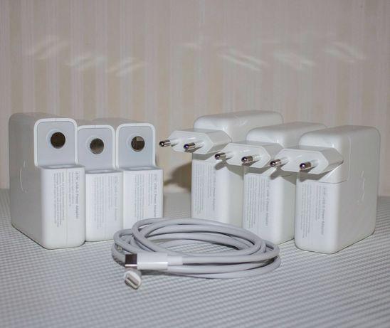 Оригинал USB-C 61/87/96W Apple MacBook зарядка (блок питания)+кабель
