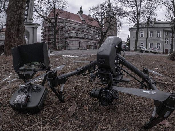Dron dji Inspire 1 x5r raw ssd 4k