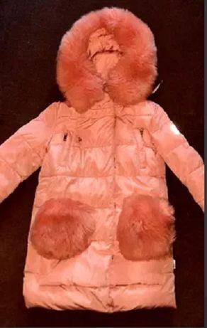 Зимний пуховик, куртка , пальто kiko на 10 лет