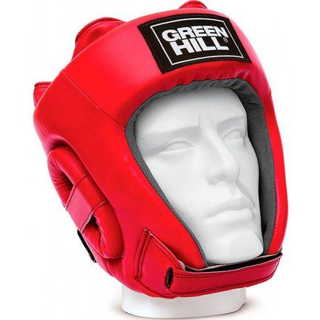 Шлем боксерский турнирный Green Hill Five Star с лицензией ФБУ