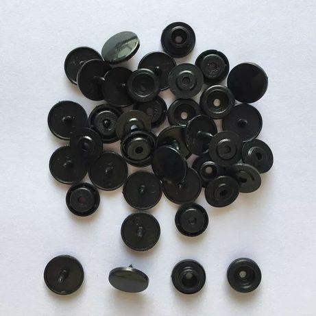 Botões de pressão de plástico para costura