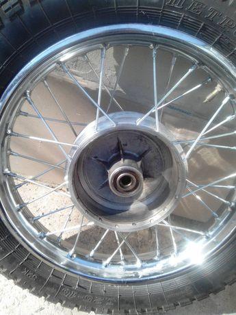 колесо на 16 на яву старушку после ремонта