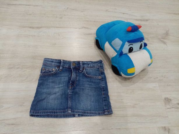 Джинсовая юбка на девочку 3-7 лет HM
